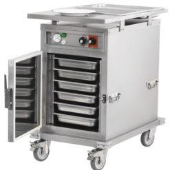 materiel cuisine four traiteur 5 niveaux 5 grilles bac gastro 230V